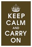 Keep Calm (chocolate) Poster