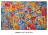 Landkaart VS Schilderij van Jasper Johns