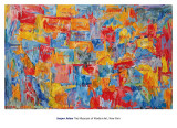Map Poster by Jasper Johns