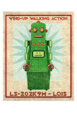 Lois Box Art Robot Posters by John Golden