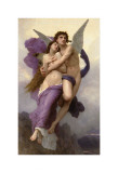 Le Ravissement de Psyché Posters par William Adolphe Bouguereau
