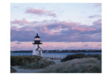 Brant Point Light Poster by Rezendes 