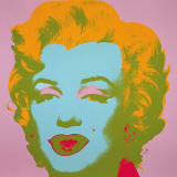 Andy Warhol - Marilyn Monroe, 1967 (pale pink) Obrazy