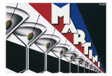 Martini Affiches par Steve Forney