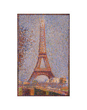 Eiffel Tower, c.1889 Print by Georges Seurat