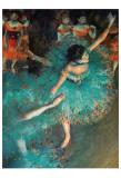 Dançarina Poster por Edgar Degas
