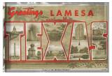 Texas Greetings Poster