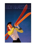 New Hampshire Affiches par  Hechenberger