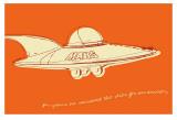 Lunastrella Flying Saucer Prints by John Golden