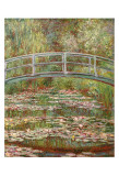 Water Lily Pond, c.1899 Poster af Claude Monet