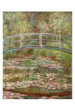 睡蓮の池と日本の橋 1899年 ポスター : クロード・モネ
