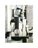 Still Life with Guitar Posters por Juan Gris