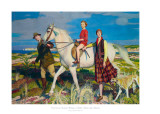 Four Loves I Found, a Woman, a Child, a Horse and a Hound Prints by Spencer George Watson