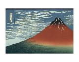 Katsushika Hokusai - Red Fuji Obrazy