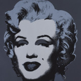Marilyn Monroe, 1967 (black) Kunstdrucke von Andy Warhol