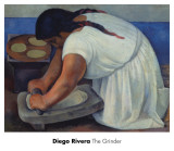 The Grinder, c.1926 Art by Diego Rivera