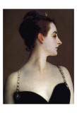 Madame X (detail) Prints by John Singer Sargent