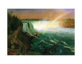 Niagara Falls Prints by Albert Bierstadt