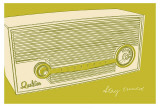Lunastrella Radio Prints by John Golden
