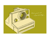 Lunastrella Instant Camera Art by John Golden