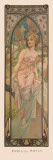 Eveil du Matin Prints by Alphonse Mucha