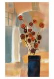 Fleurs dans l'arcade Posters par Nancy Ortenstone