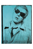Andy Warhol - Self-Portrait, c.1964 (teal) Plakát
