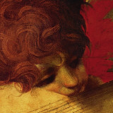 Musical Angel (detail) Prints by  Rosso Fiorentino (Battista di Jacopo)