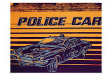 Andy Warhol - Police Car, c.1983 Reprodukce