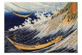Ocean Waves Kunstdrucke von Katsushika Hokusai