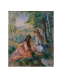 In the Meadow Print by Pierre-Auguste Renoir