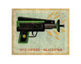 Blackstar Ray Gun Posters by John Golden