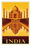 Exotic India Poster von Steve Forney