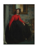 Girl with Red Vest, c.1864 Prints by James Tissot