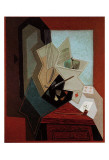 The Painter's Window Print by Juan Gris