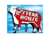 Rod&#39;s Steakhouse Affiches par Anthony Ross