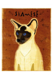 Siamese Poster by John Golden