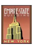 Empire State Building Reprodukcje autor Brian James