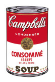 Campbell's Soup I: Consomme, c.1968 Affiches par Andy Warhol