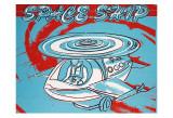 Space Ship, c.1983 Kunstdrucke von Andy Warhol