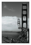 Golden Gate Fog Posters by Sabri Irmak