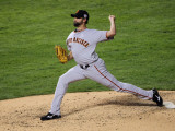 San Francisco Giants v Texas Rangers, Game 3: Jeremy Affeldt Photographic Print by Doug Pensinger