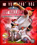 Roy Halladay 2nd No-Hitter in postseason history PF Gold Photo