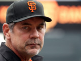 Texas Rangers v San Francisco Giants, Game 2: Bruce Bochy Photographic Print by Doug Pensinger