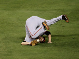 San Francisco Giants v Texas Rangers, Game 4: Freddy Sanchez Photographic Print by Stephen Dunn