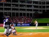 San Francisco Giants v Texas Rangers, Game 4: Madison Bumgarner Photographic Print by Pool .