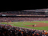 Texas Rangers v San Francisco Giants, Game 2 Photographic Print by Christian Petersen