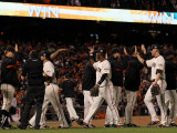 Texas Rangers v San Francisco Giants, Game 2 Photographie par Justin Sullivan