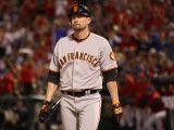 San Francisco Giants v Texas Rangers, Game 4: Aubrey Huff Photographic Print by  Elsa