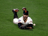 Texas Rangers v San Francisco Giants, Game 2: Cody Ross Photographic Print by Jed Jacobsohn